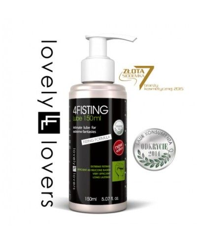 Lovelly Lovers 4Fisting Lube 150ml new edition