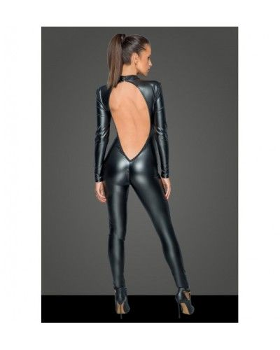 F230 Overall with deep back neckline L