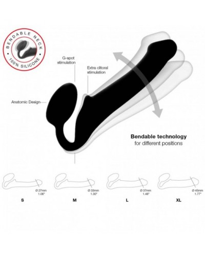 Kink The Perfect Cock With Removable Vac-U-Lock™ Suction Cup 7.5""