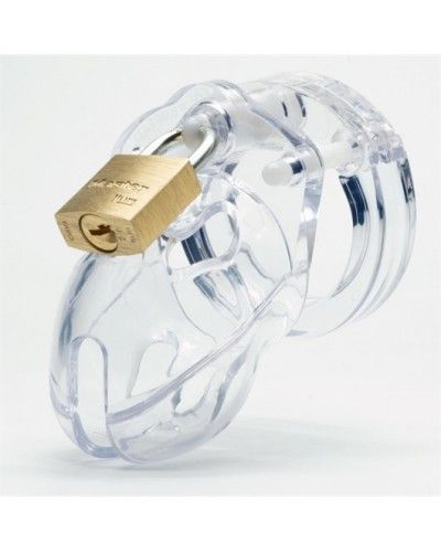 CB-X Mr Stubb Chastity Cage Clear