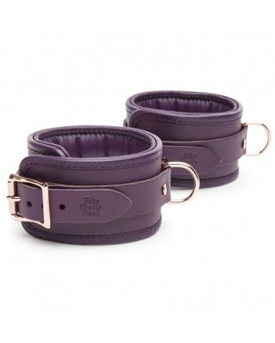 Fifty Shades Freed - Cherished Collection Leather Ankle Cuffs