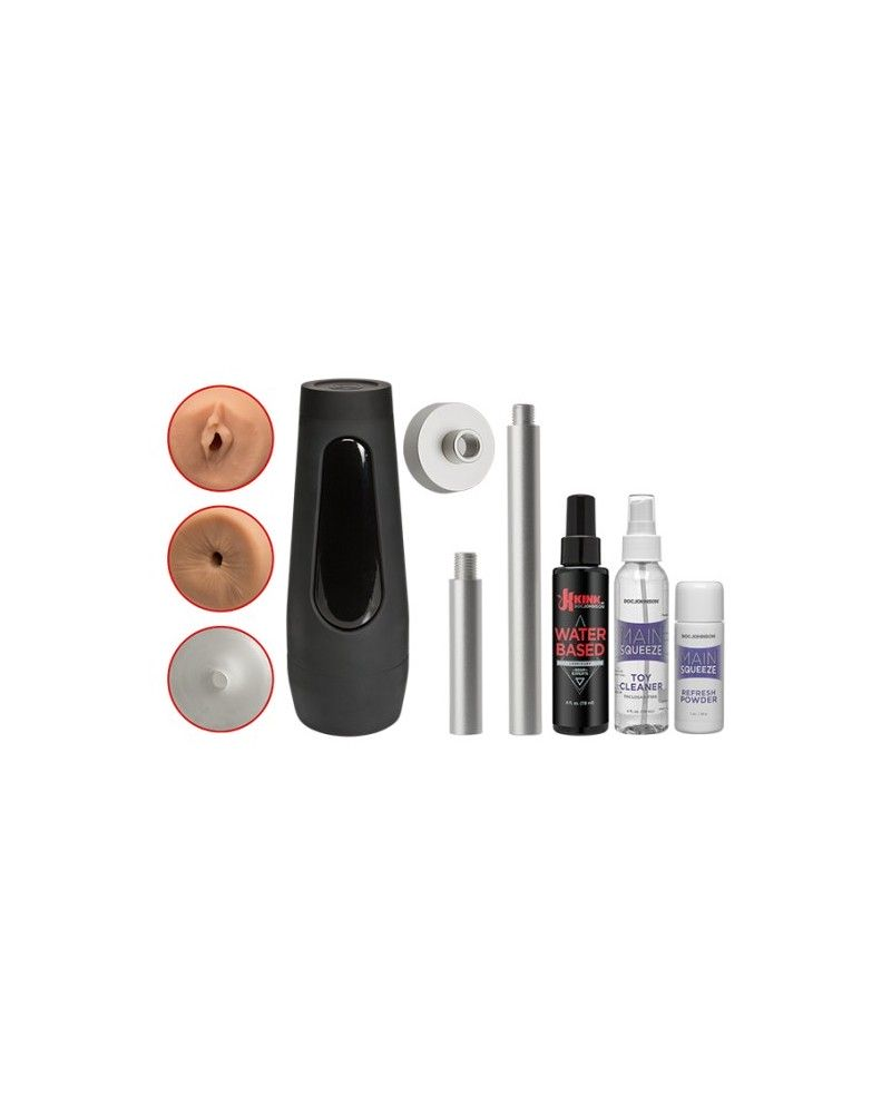 Kink Power Banger Fuck Hole Accessory Pack 10 Piece Kit