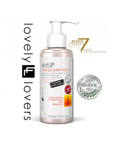 Lovely Lovers HotUP Massage Lube 150 ml