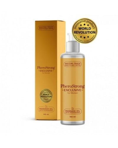PheroStrong Exclusive for Women Massage Oil 100ml