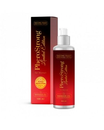 PheroStrong Limited Edition for Women Massage Oil 100ml