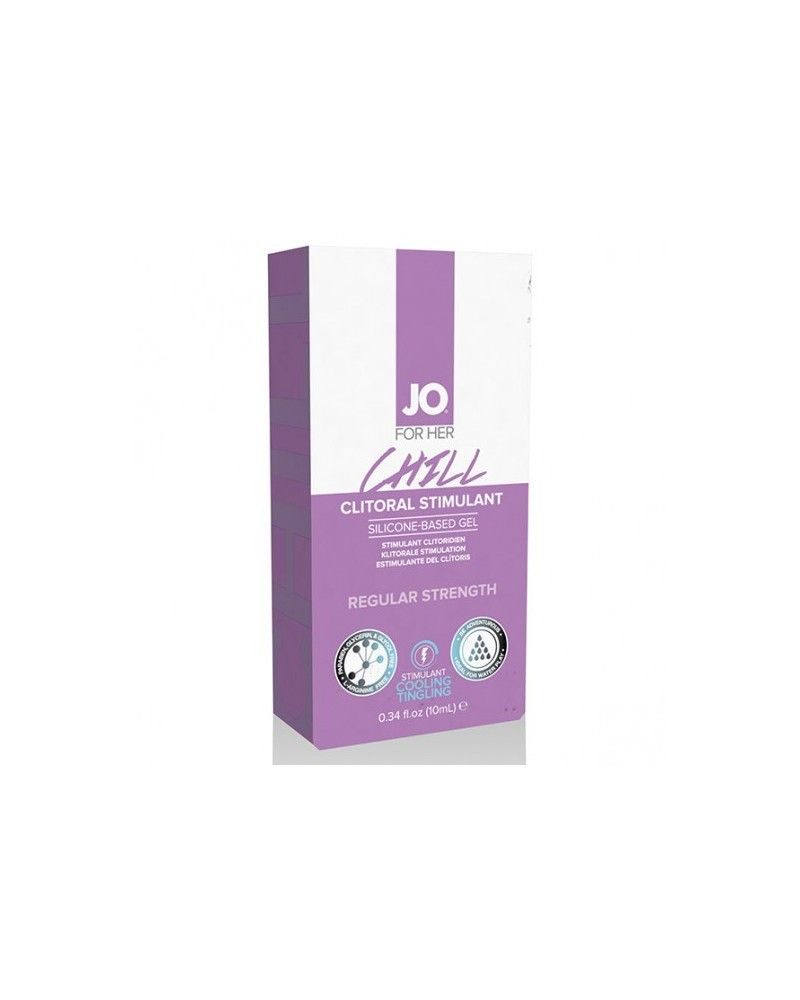 System JO For Her Clitoral Stimulant Cooling Chill 10 ml