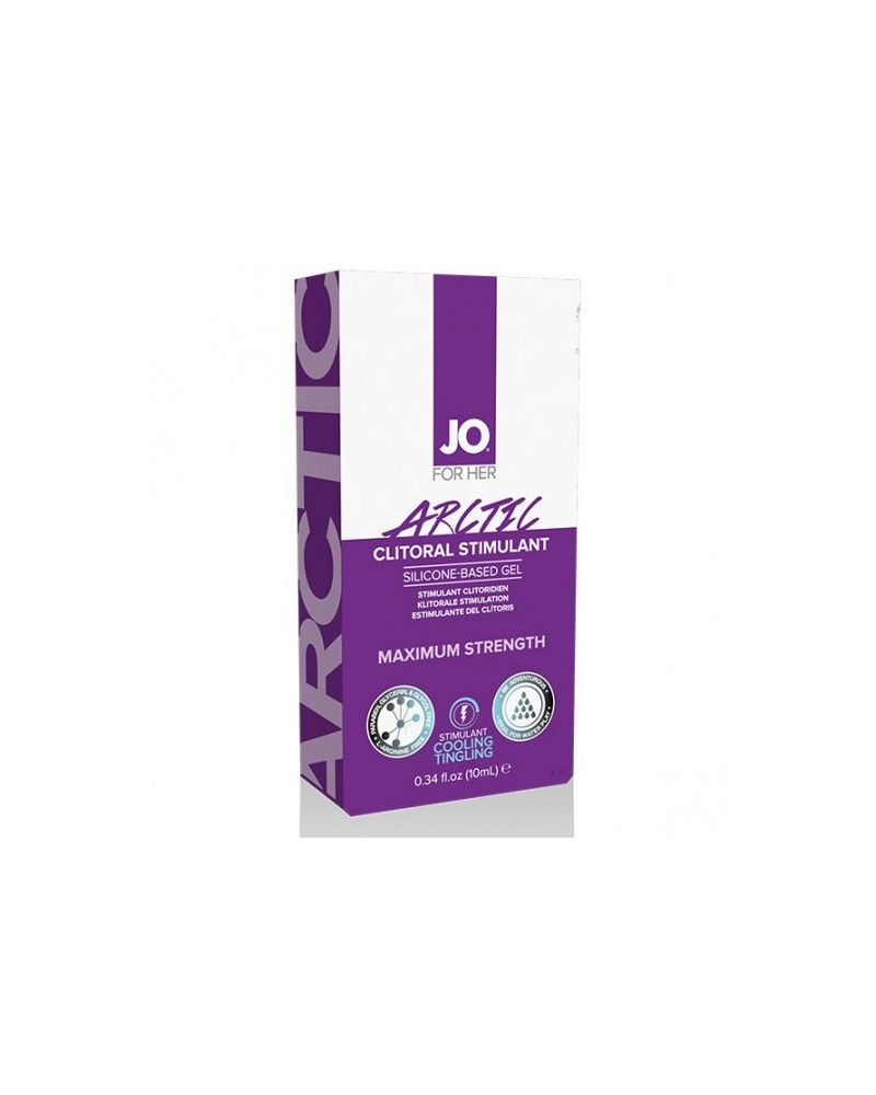 System JO For Her Clitoral Stimulant Cooling Arctic 10 ml